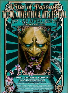 Melbourne tattoo convention 2012