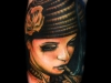 Khan Tattoo - Realistic Color-034