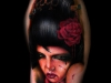 Khan Tattoo - Realistic Color-045